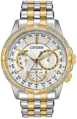 Citizen Mens Two Tone Bracelet Watch-Bu2084-51a