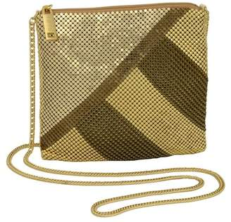 Whiting & Davis Colorblock Mesh Crossbody