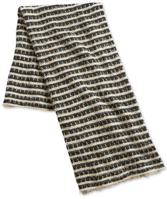"Sunham Oxford Collection 50"" x 60"" Fringed-Stripe Throw, Created for Macy's"