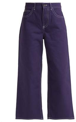 Marni High Rise Wide Leg Jeans - Womens - Denim