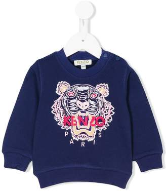 Kenzo embroidered tiger sweatshirt