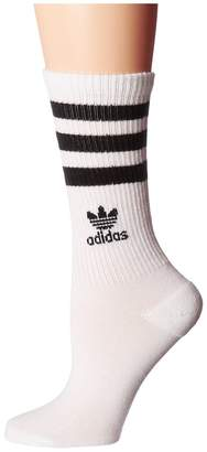 adidas Roller Crew Sock 1-Pair Pack Women's Crew Cut Socks Shoes