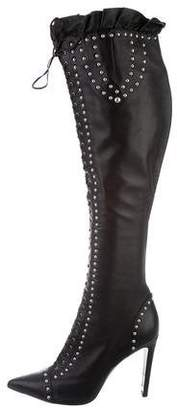 68ee558dcc Studded Over-the Knee Boot - ShopStyle