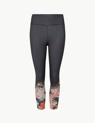 559a70632c5 Marks and Spencer Printed Cropped Leggings