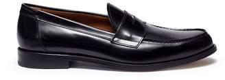 Antonio Maurizi Cordovan leather penny loafers