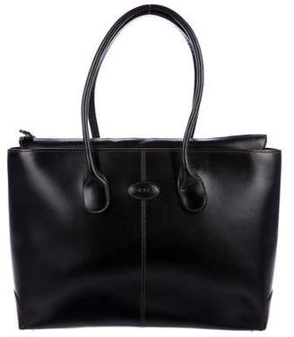Tod's Leather Shopper Tote