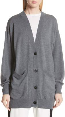 MM6 MAISON MARGIELA Elbow Patch Wool Cardigan