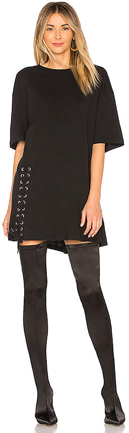 KENDALL + KYLIE Lace Up Tee by KENDALL + KYLIE