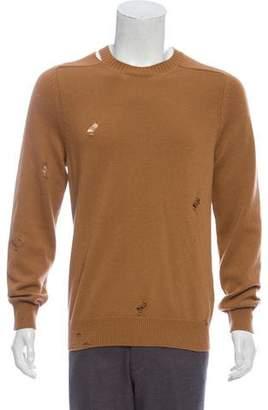 Alexander McQueen Distressed Cashmere Sweater