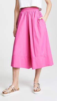 MDS Stripes Gaucho Skirt