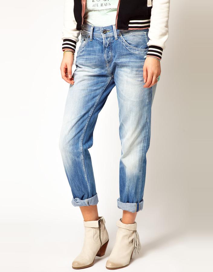 Pepe Jeans Stanley Boyfriend Jeans