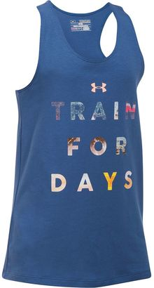 """Girls 7-16 Under Armour """"Train For Days"""" Graphic Tank Top $19.99 thestylecure.com"""