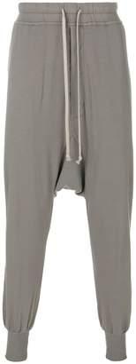 Rick Owens drop crotch jogging bottoms