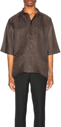 Haider Ackermann Kimono Shirt in Athenaes Brown | FWRD