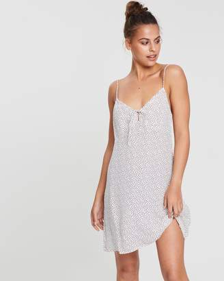Florence Tie Slip Mini Dress