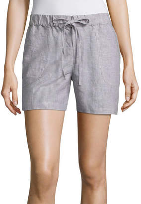 Liz Claiborne 5 Knit Pull-On Shorts