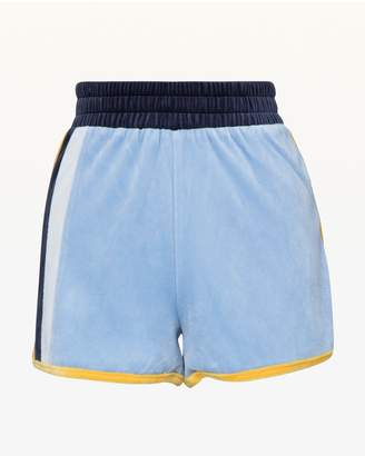 Juicy Couture Colorblock Lightweight Velour Short