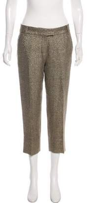 Diane von Furstenberg Knit Mid-Rise Pants