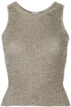 H Beauty&Youth ribbed knit sweater vest