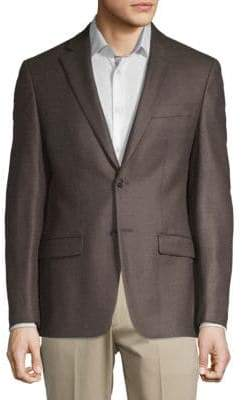 Calvin Klein Wool Button Sportcoat