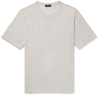 Theory Structure Pima Cotton-Terry T-Shirt