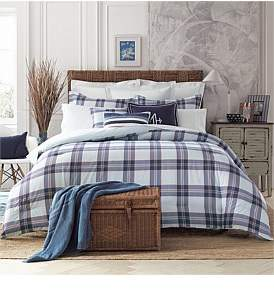 Tommy Hilfiger Surf Plaid Quilt Cover Set Queen Bed