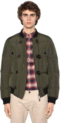 DSQUARED2 Nylon Down Bomber Jacket