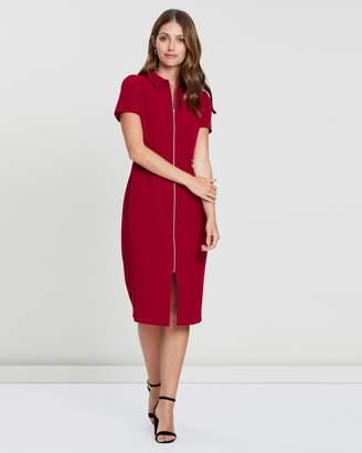 Dorothy Perkins Zip Front Dress