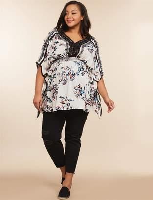 Jessica Simpson Motherhood Maternity Plus Size Secret Fit Belly Skinny Leg Maternity Jeans