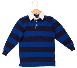 Brooks Brothers Boys' Striped Collar Shirt