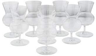 Baccarat Set of 8 Thistle Brandy Glasses