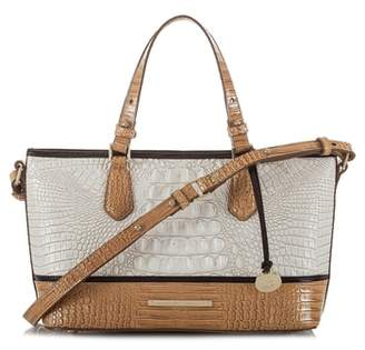 Brahmin Mini Asher Embossed Leather Tote