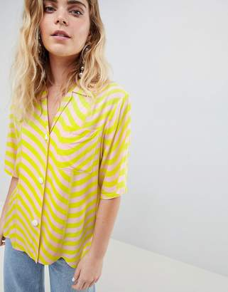 House of Holland Surfer Bowling Shirt