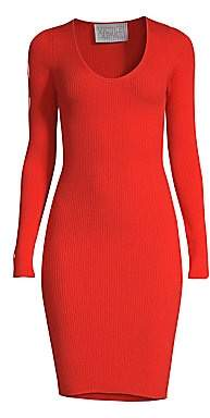 Victor Glemaud Women's Cutout Sleeve Knit Dress