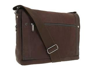 Kenneth Cole Reaction Busi-Mess Essentials - Single Gusset Flapover Messenger Bag