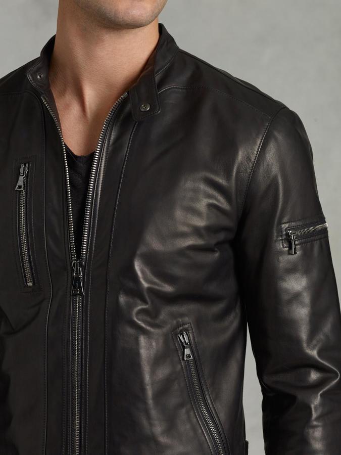 Lambskin Leather Jacket 3