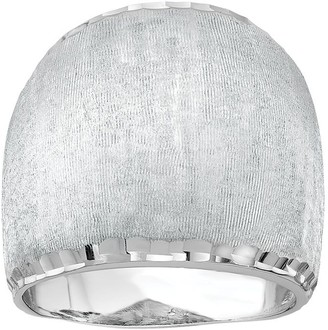 Italian Silver Wide Domed Ring