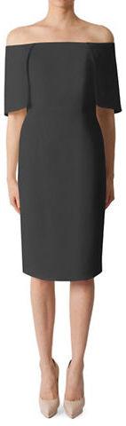 Black HaloBlack Halo Eloise Cape Overlay Sheath Dress