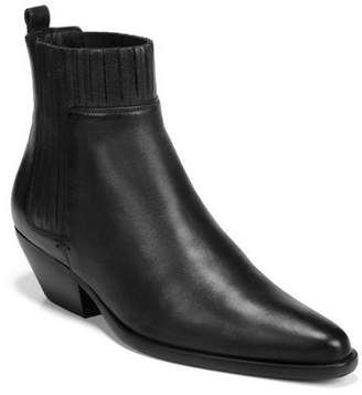 Vince Eckland Ankle Pleated Booties