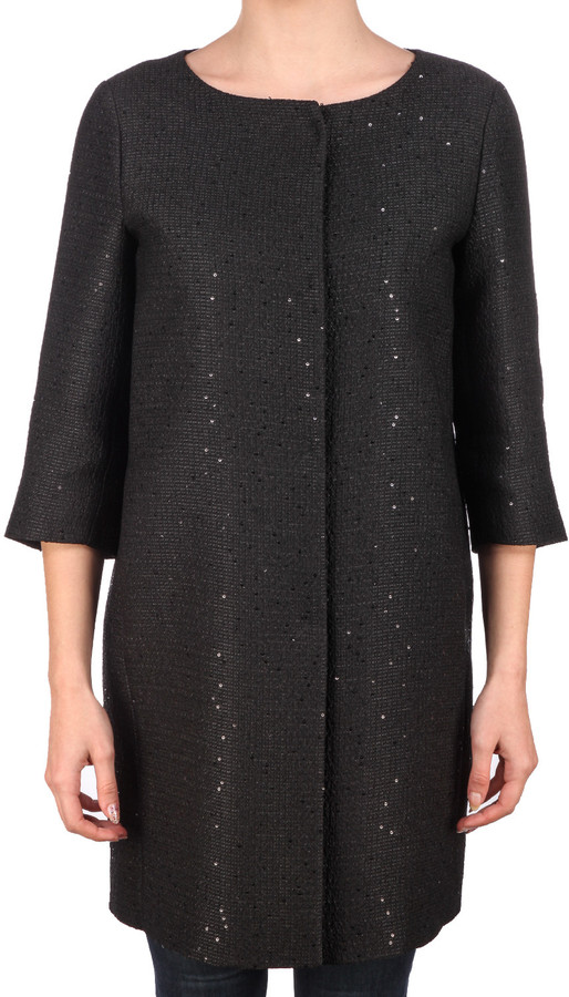 Herno Herno Paillettes Coat