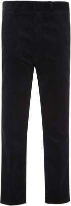 Ami Straight-Leg Corduroy Pants
