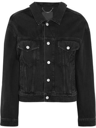 Balenciaga - Denim Jacket - Black $945 thestylecure.com