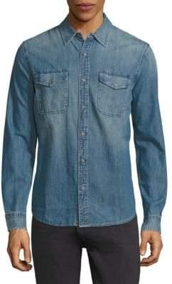 AG Jeans Benning Denim Regular-Fit Shirt