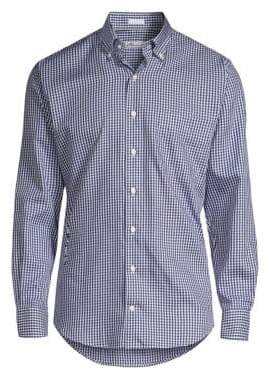 Peter Millar Gingham Plaid Shirt
