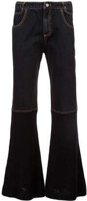Telfar boot cut wide leg jeans