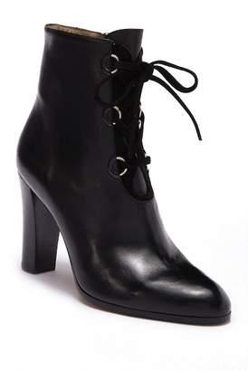 LK Bennett Melissa Lace-Up Block Heel Boot