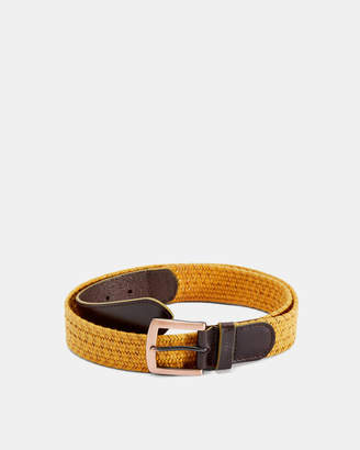 Ted Baker GALAN Leather woven belt