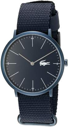 Lacoste Men's Quartz Resin and Leather Automatic Watch, Color: (Model: 2010874)