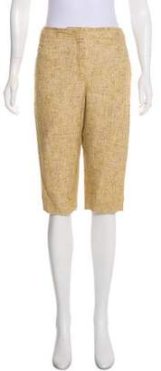 Chanel High-Rise Cropped Pants