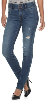 Apt. 9 Women's Tummy Control Straight-Leg Jeans